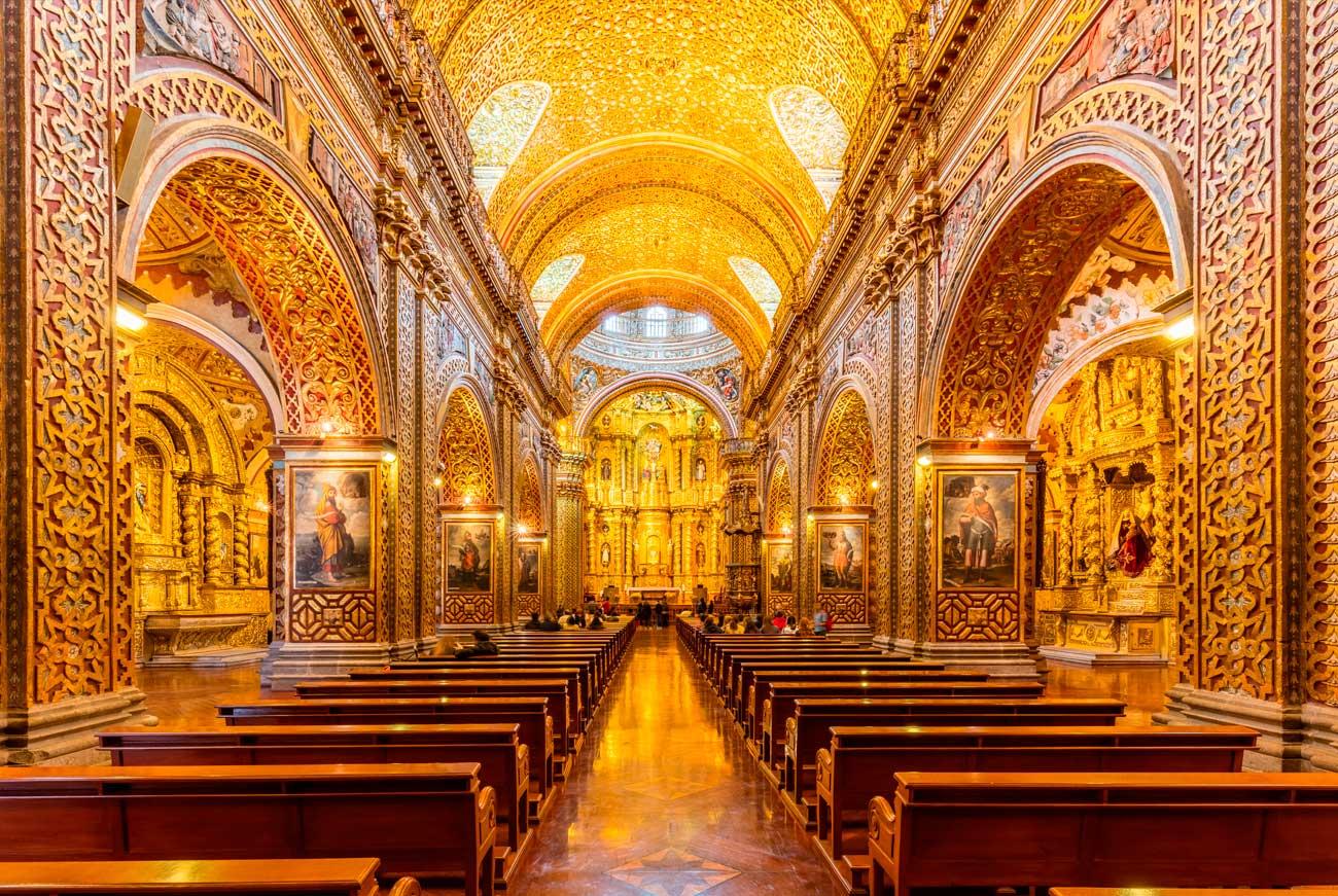 Gold Church Quito