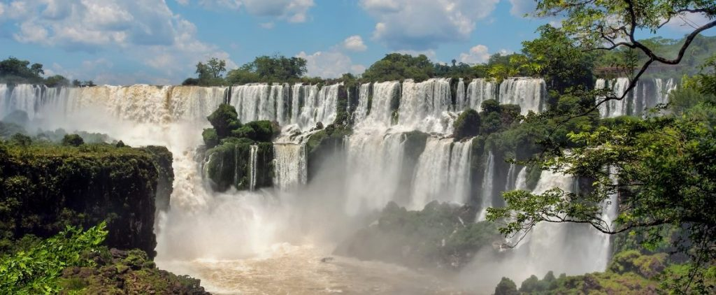 Iguacu Falls from the Brazilian Side