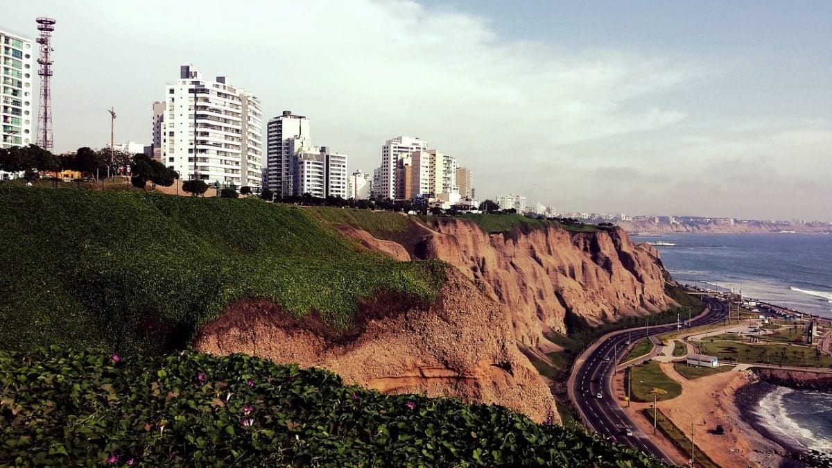 Lima city and beach