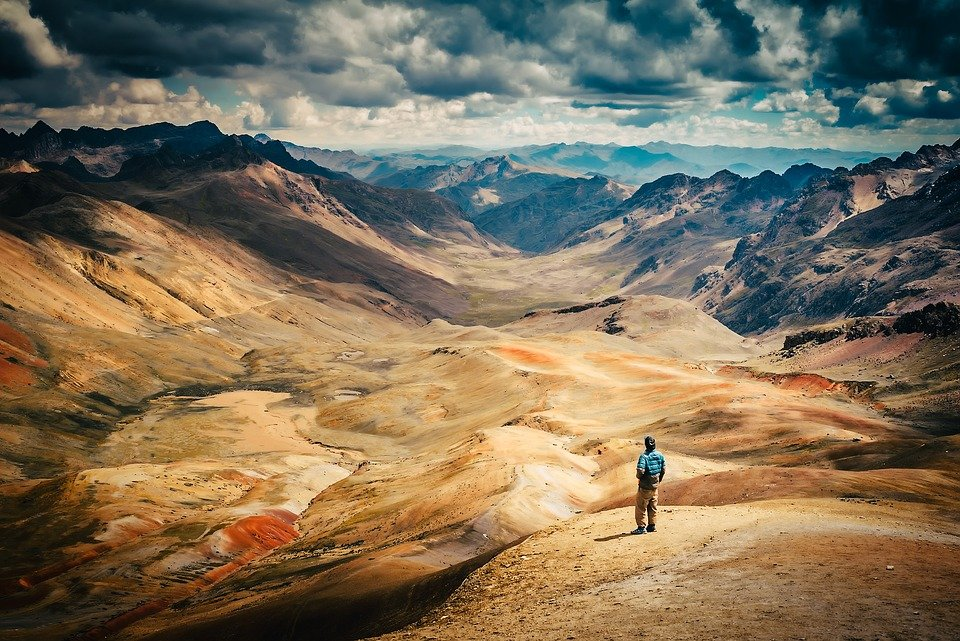 Trekking in Peru to ;and borders