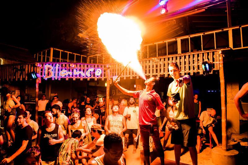 Blanco Beach Bar best hostels in Koh Phi Phi
