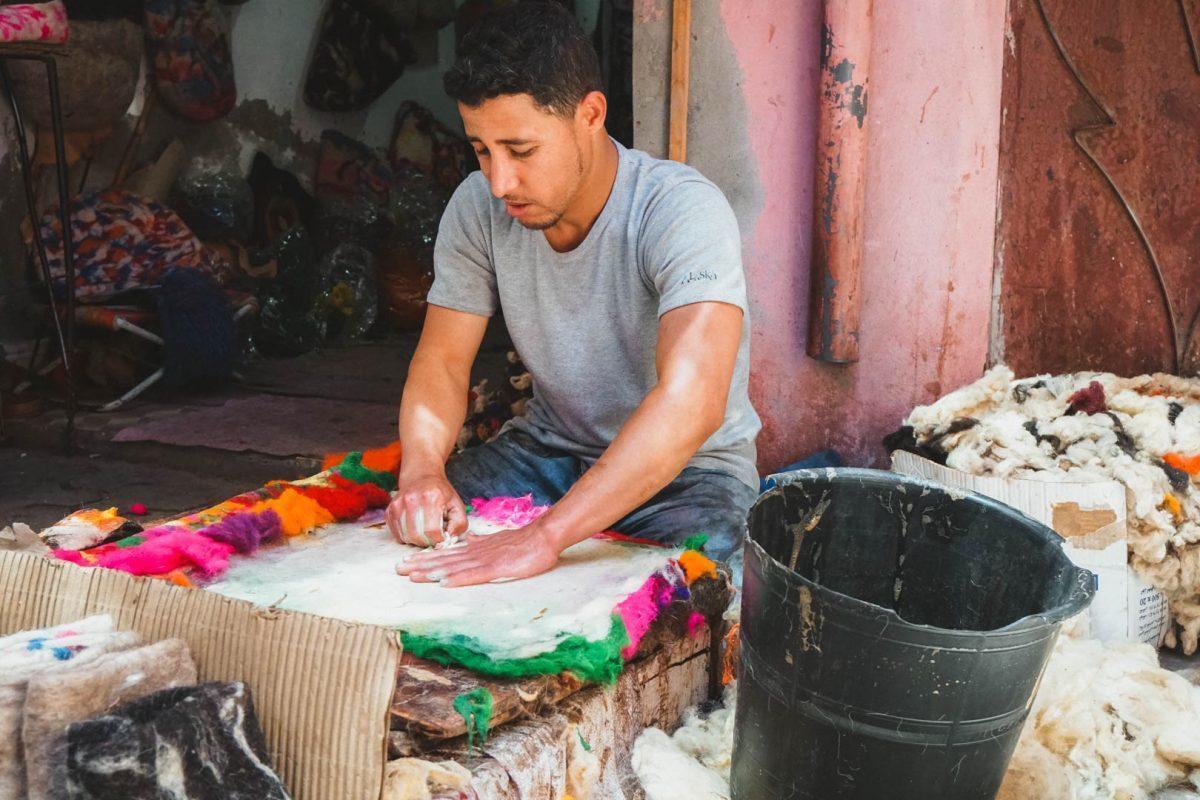people you meet backpacking Morocco