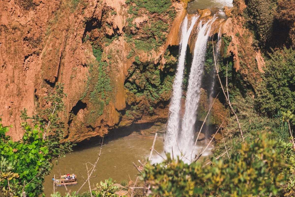 day trips from marrakesh Oued Ouzoud Waterfall
