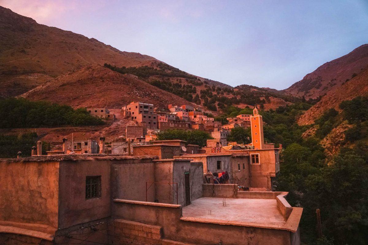 beautiful views in Imlil Morocco