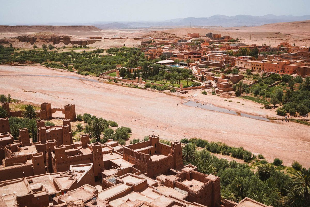 best places to go backpacking Morocco ait ben haddou