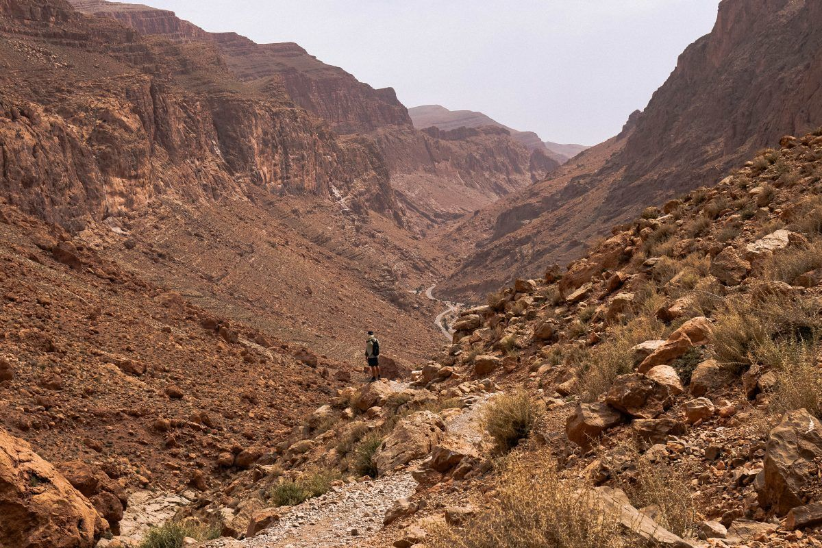 awesome views of todgha gorge morocco