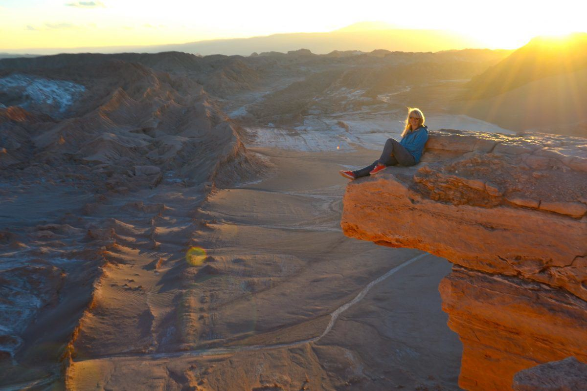 backpacking Chile desert