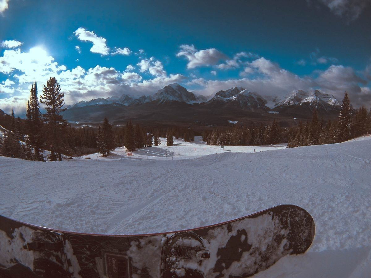 lake louise snowboarding
