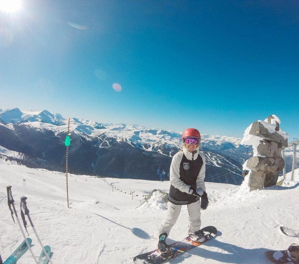 snowboard in Canada