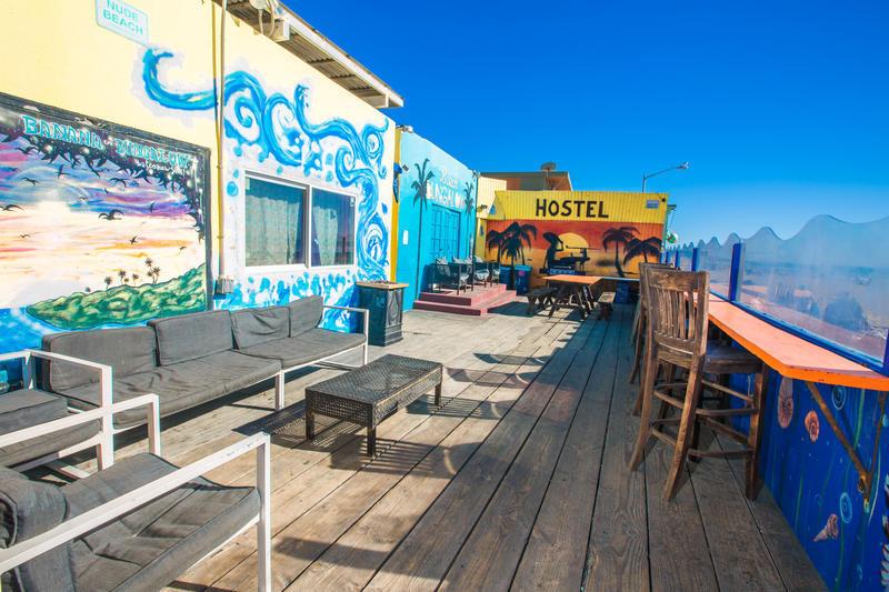 ITH Beach Bungalow Surf Hostel best hostels in San Diego