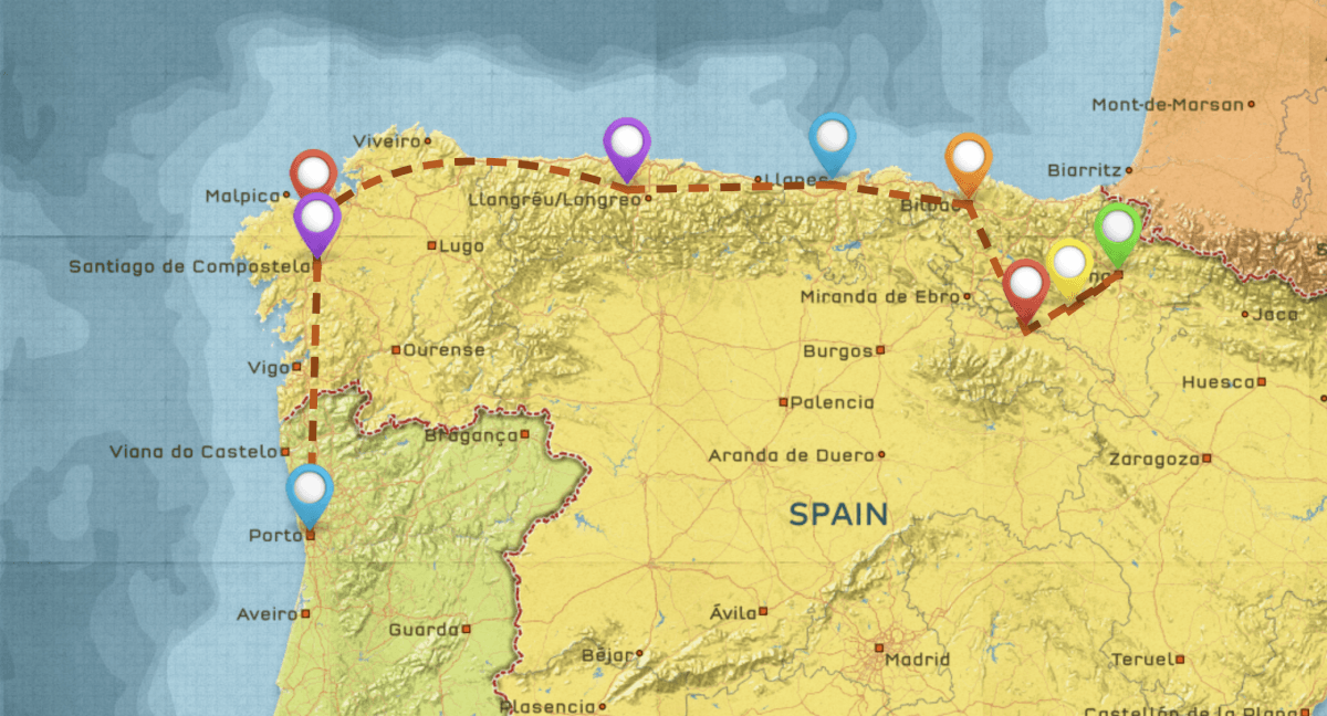 Northern Spain Travel Itinerary