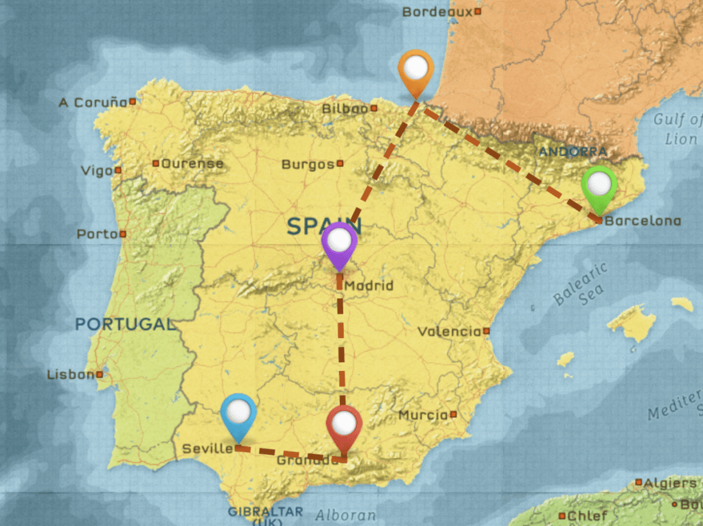 Spain Highlights Travel Itinerary