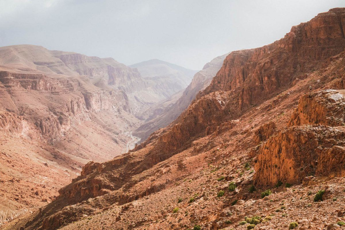 hiking around the todgha gorge morocco