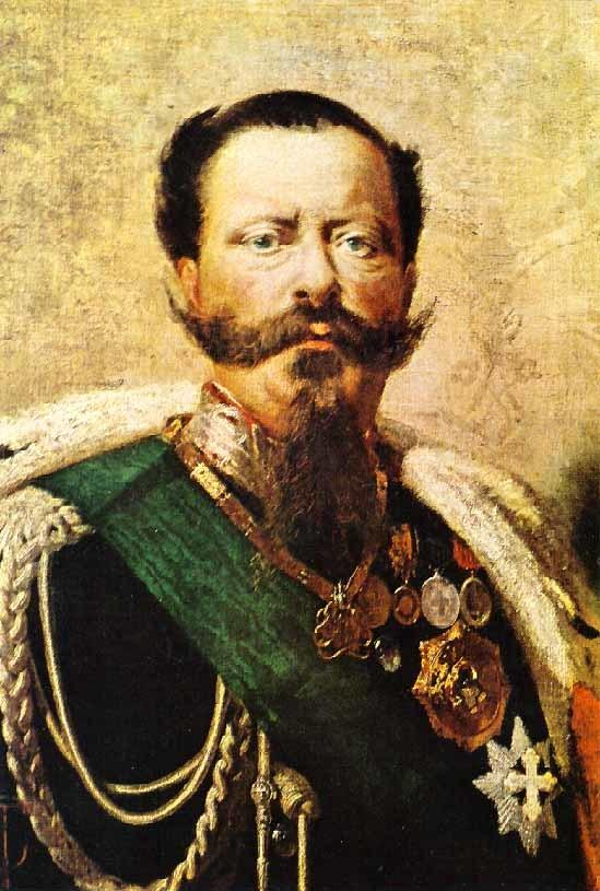 painting of Vittorio Emanuele II