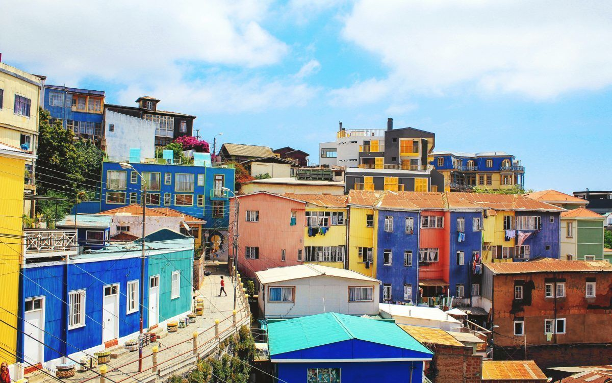 backpacking Chile valparaiso