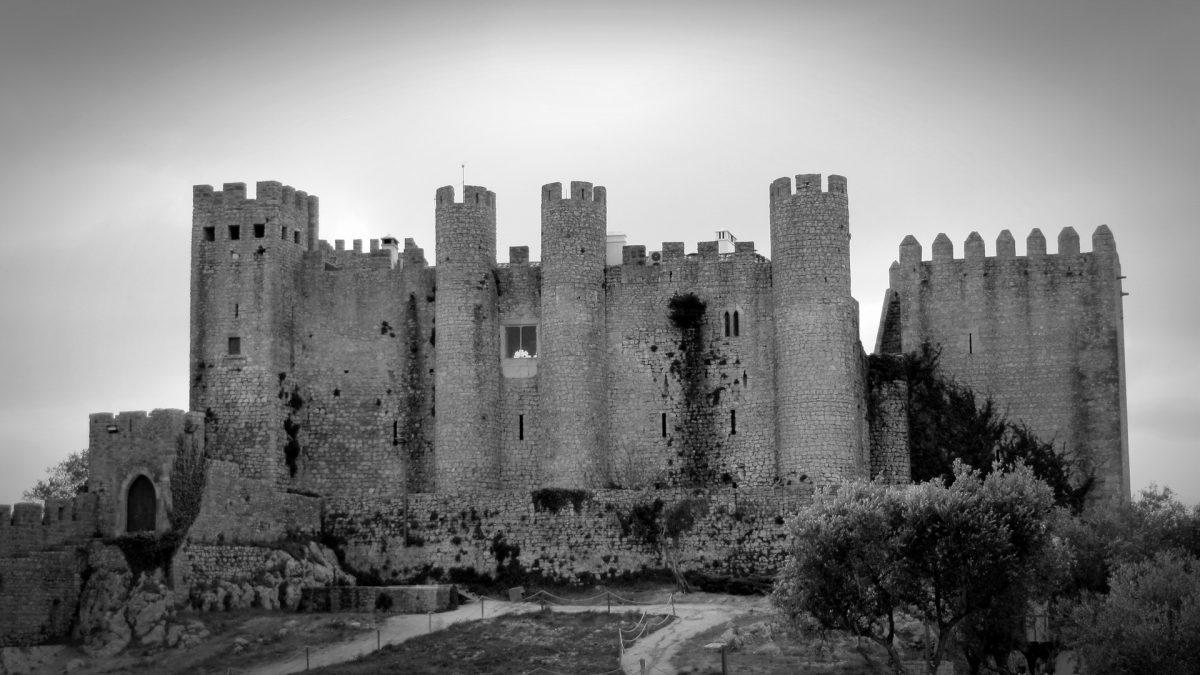 medieval Castle in obidos portugal