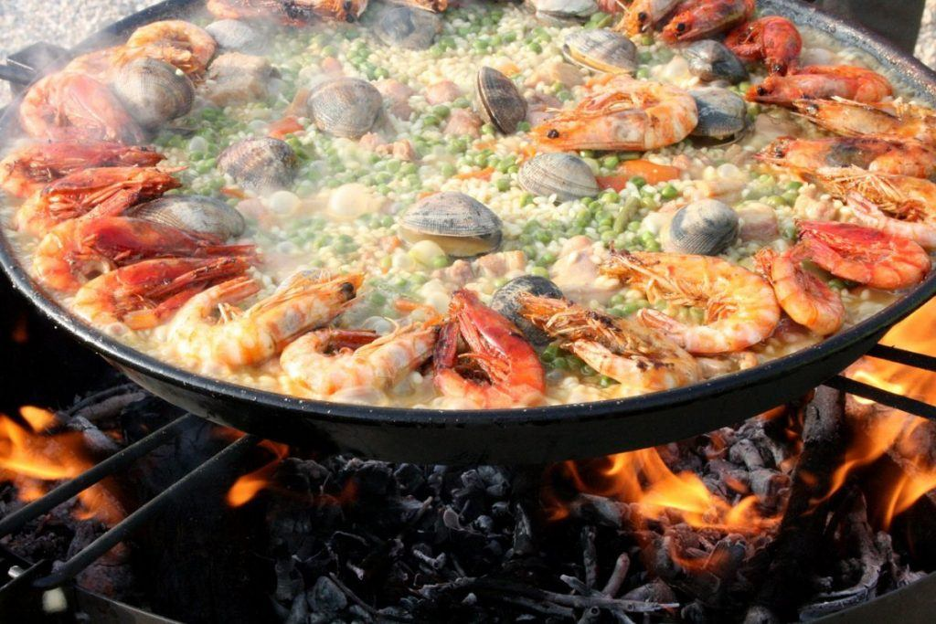 Paella is Spain's most famous dish