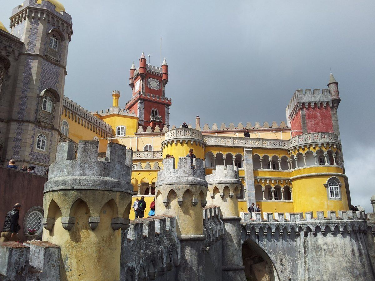 sintra and romantic architecture portugal
