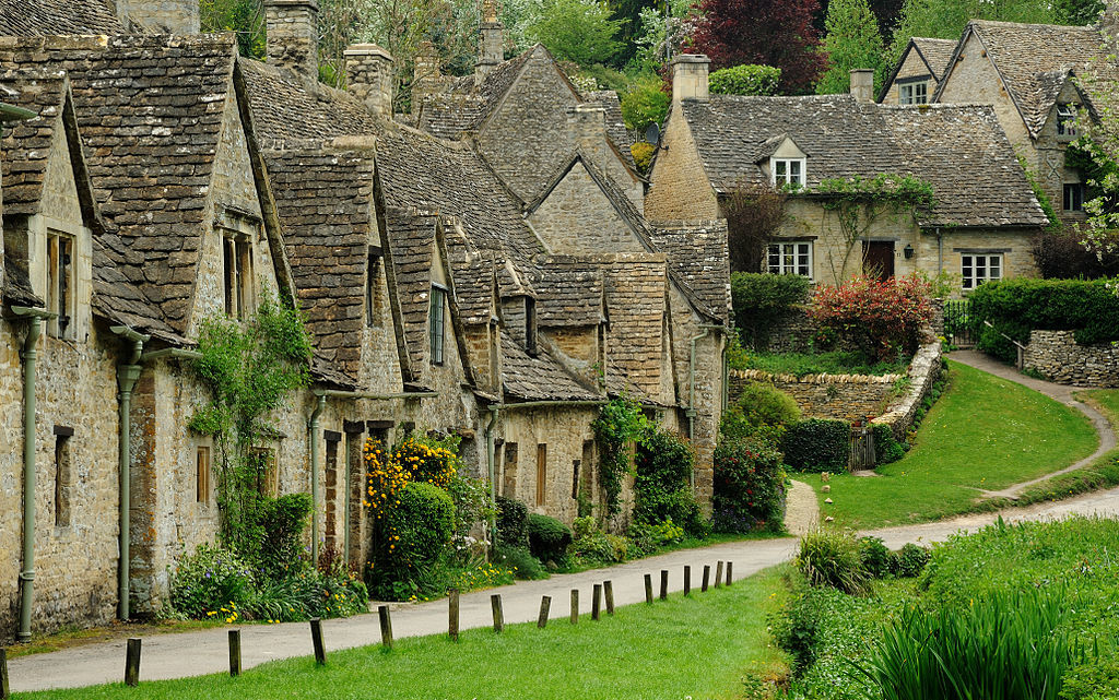 small villages in England