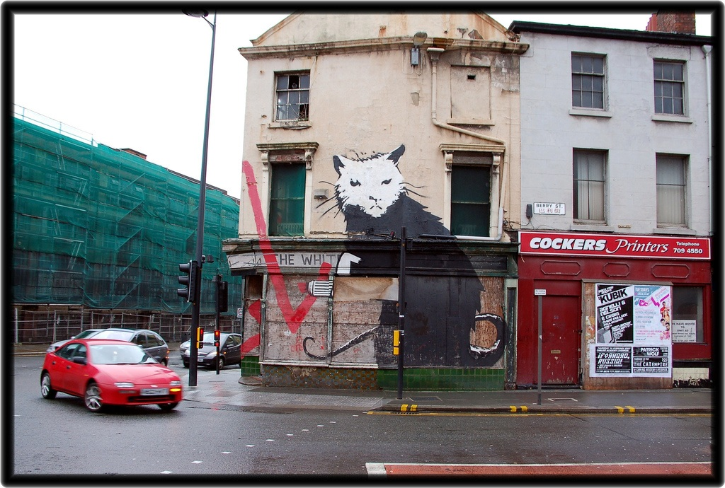 Banksy of England
