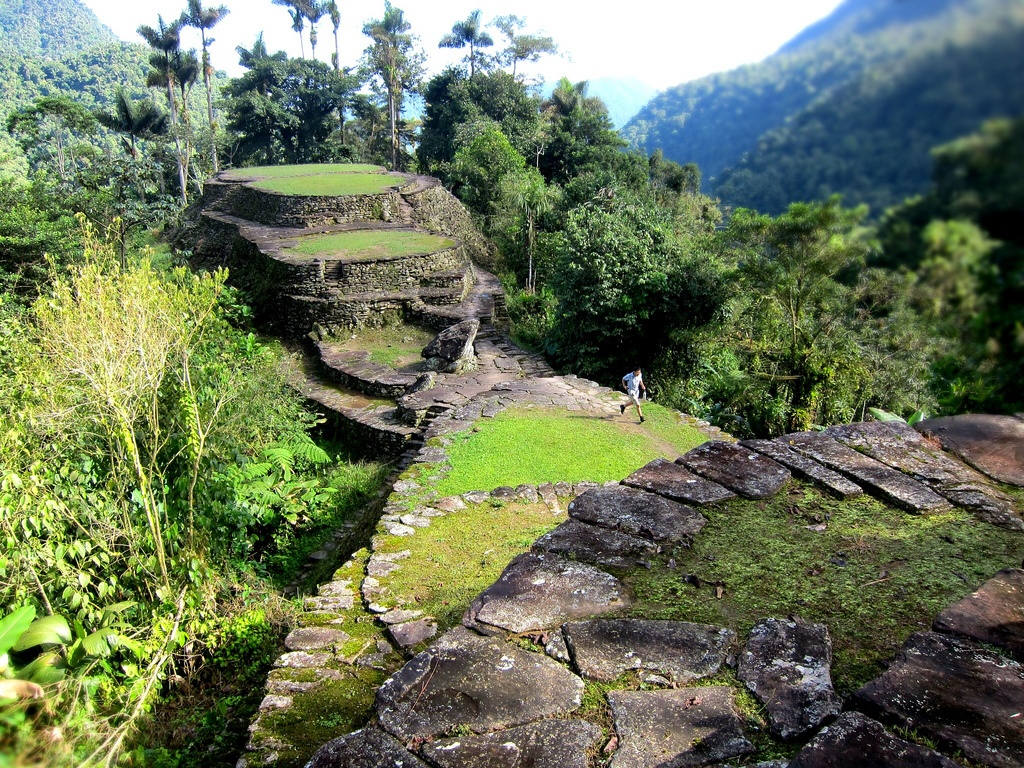 lost city in colombia