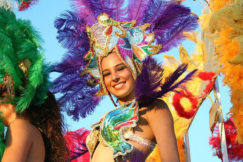 carnival in Colombia