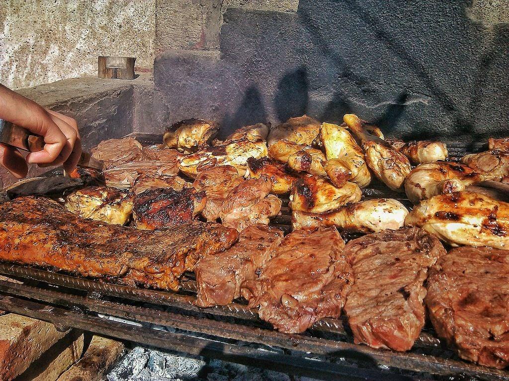 asado barbecue argentinian beef