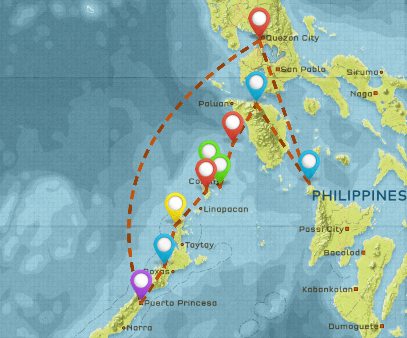 Backpacking The Philippines Itinerary #2