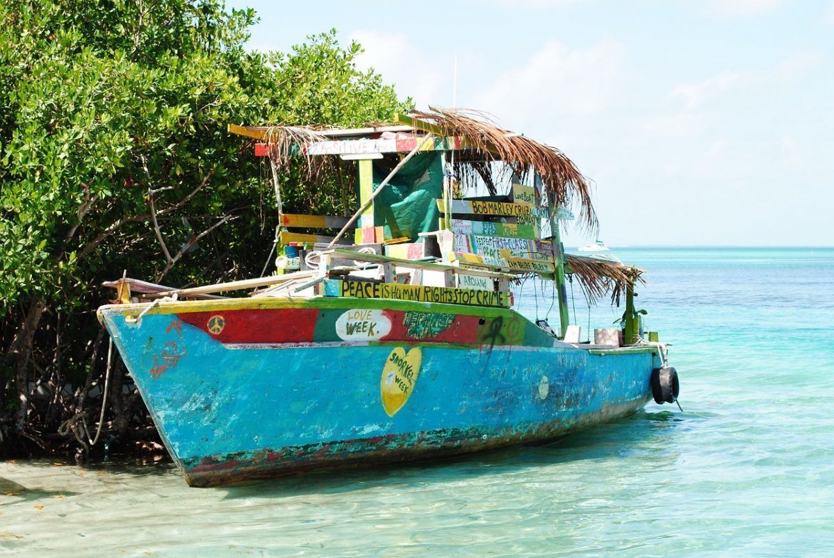 boats in Belize