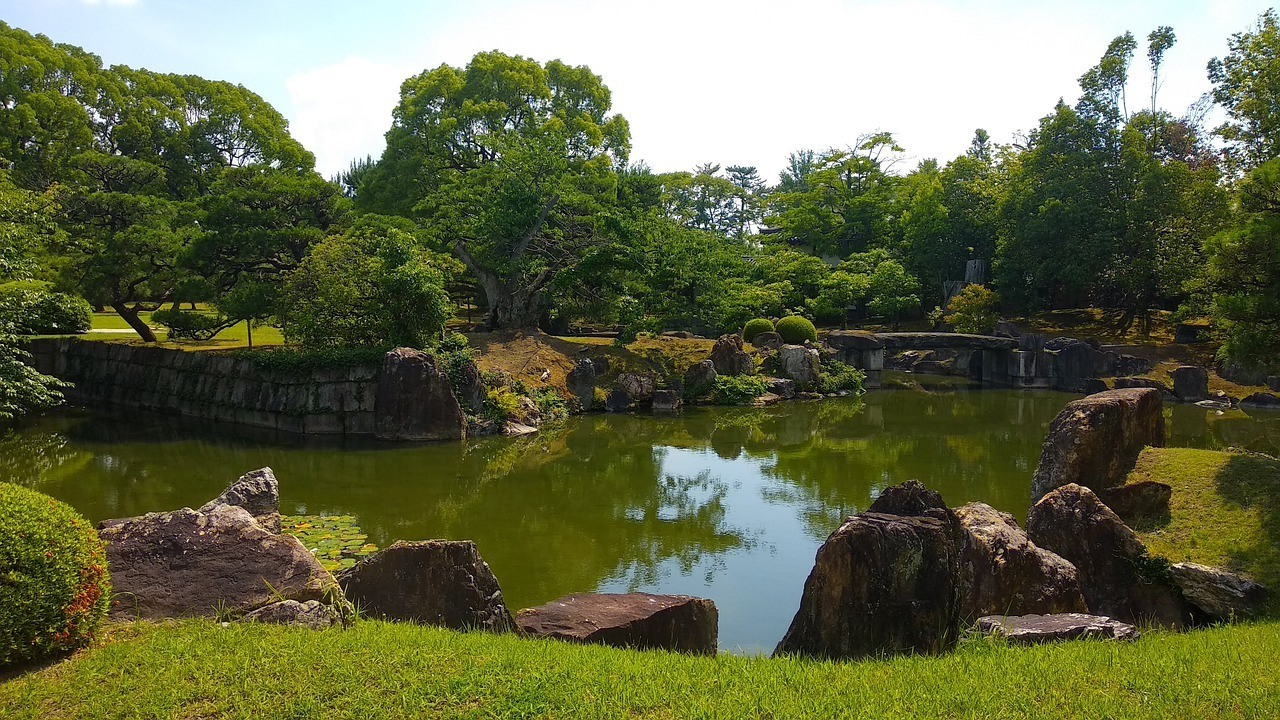 Central Kyoto gardens - things to do in Kyoto