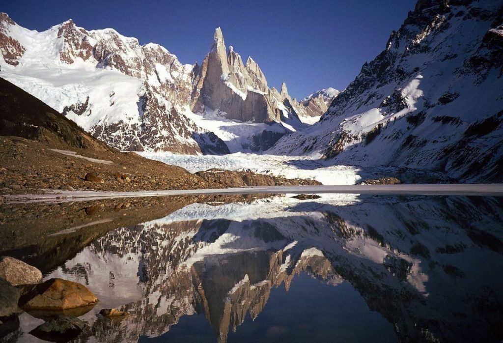 laguna cerro torre outside of el chalten patagonia argentina