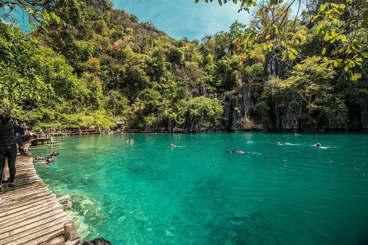 Lagoons of Coron, Palawan