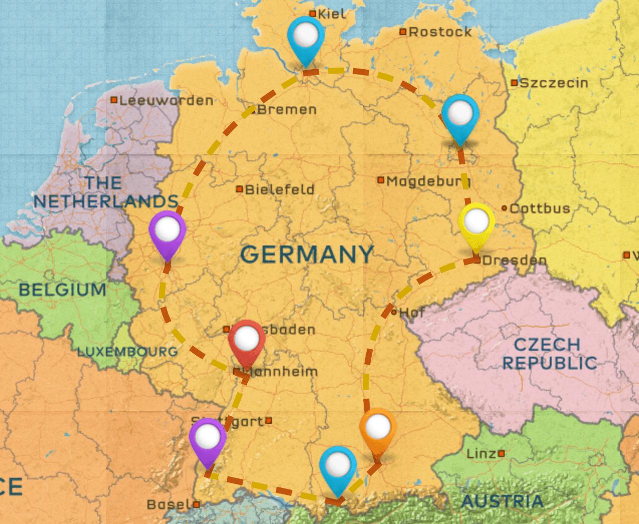Germany Itinerary #1