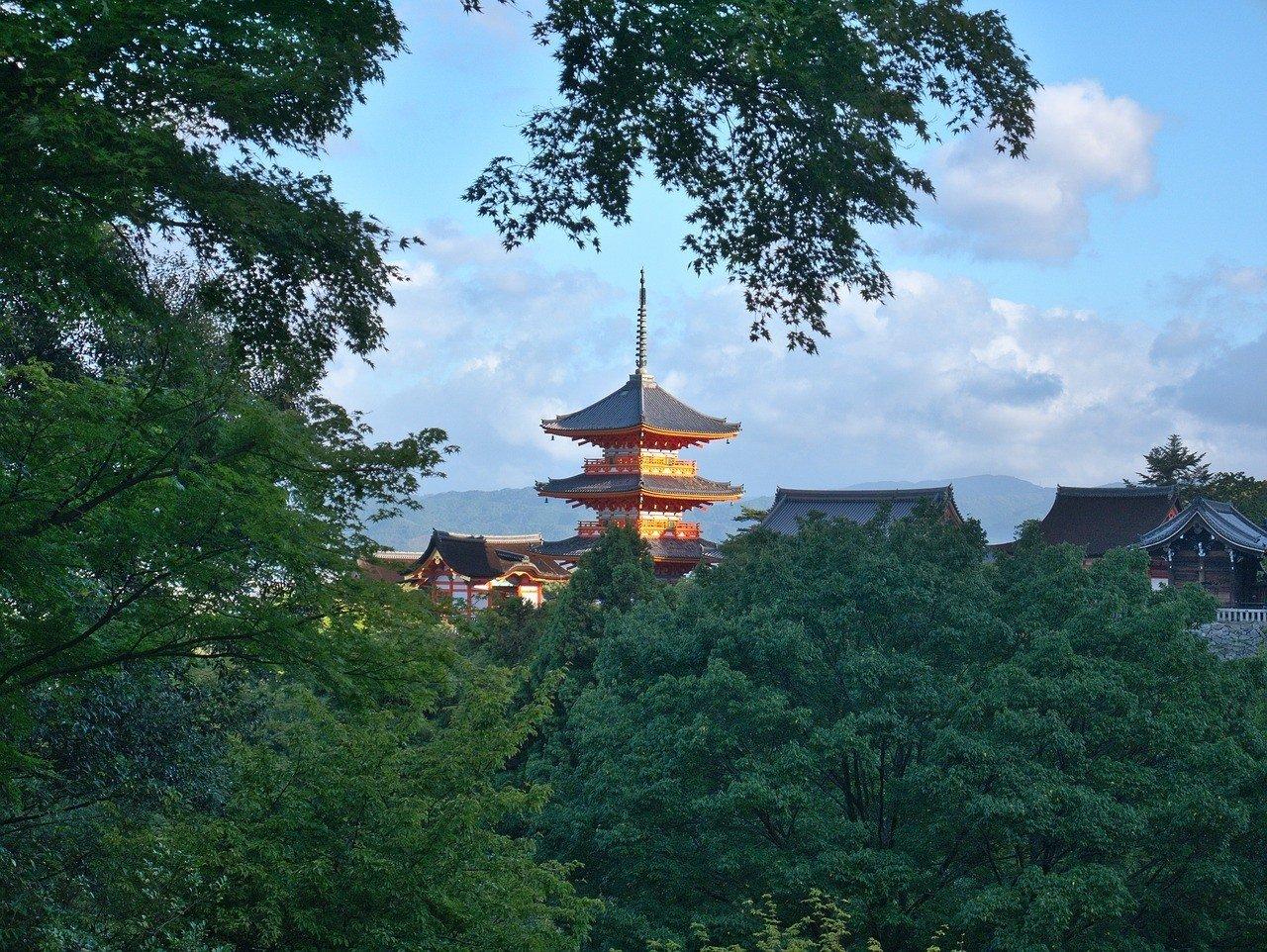 Higashiyama area in Kyoto