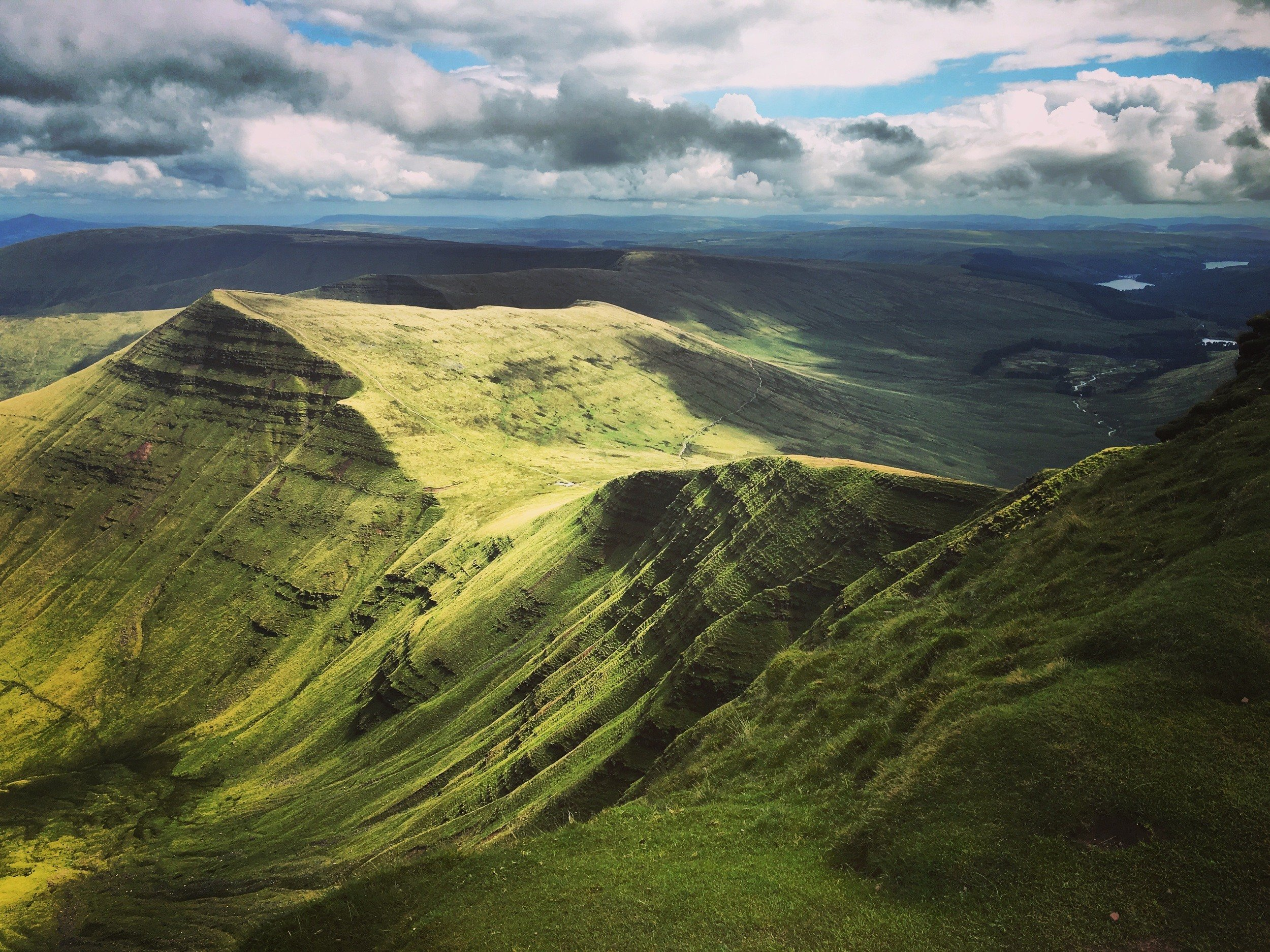 hiking pen y fan routes backpacking UK