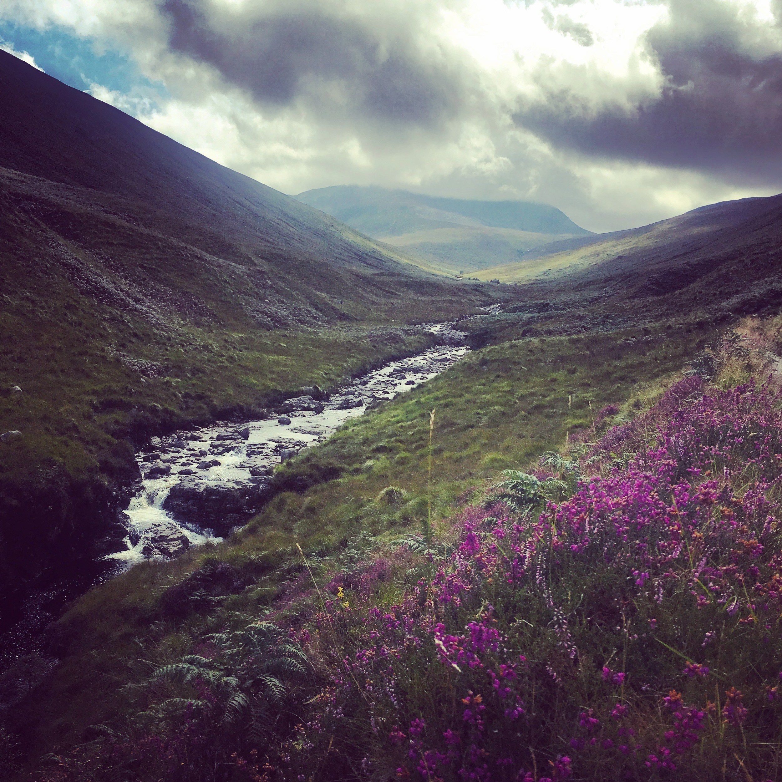 trekking in scotland