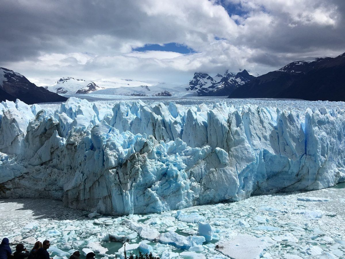 glacier in southern Patagonia