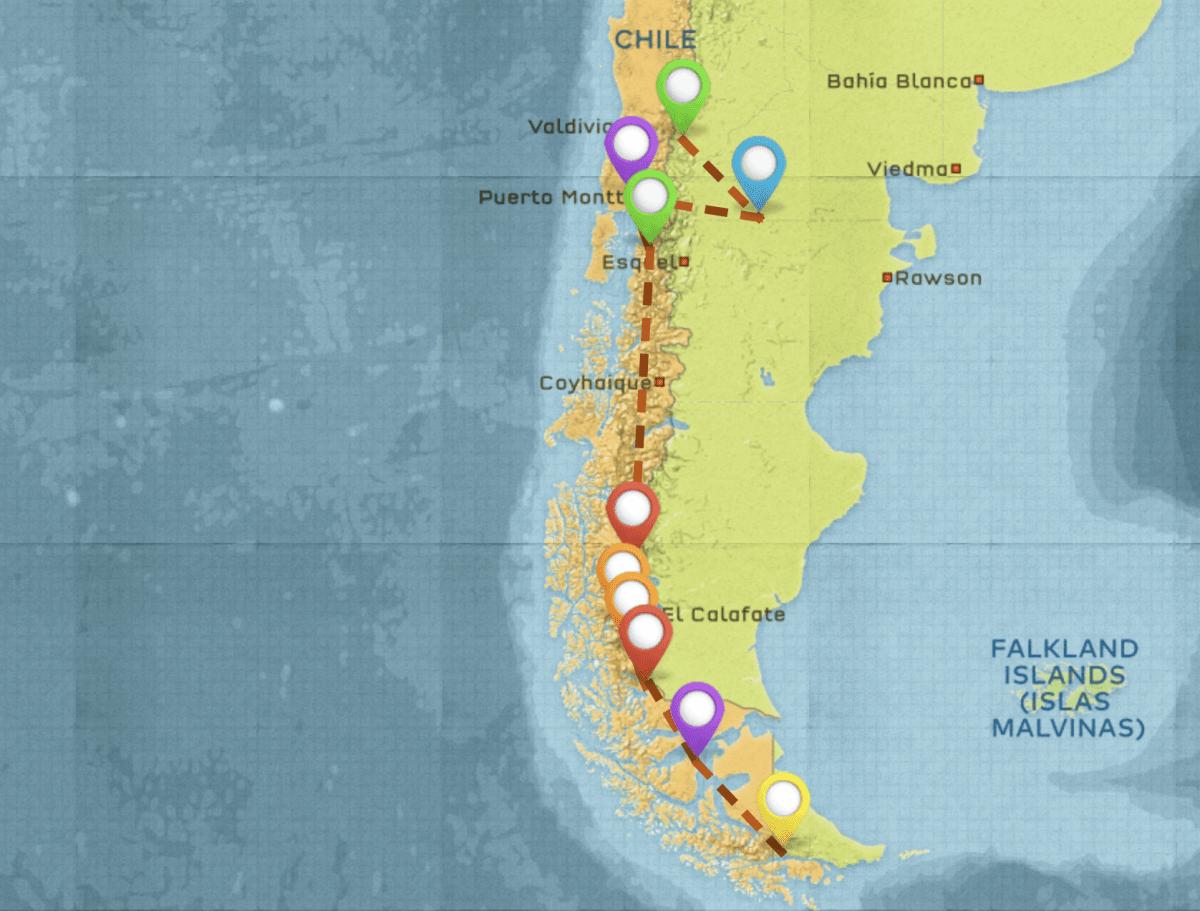 Patagonia itinerary #2