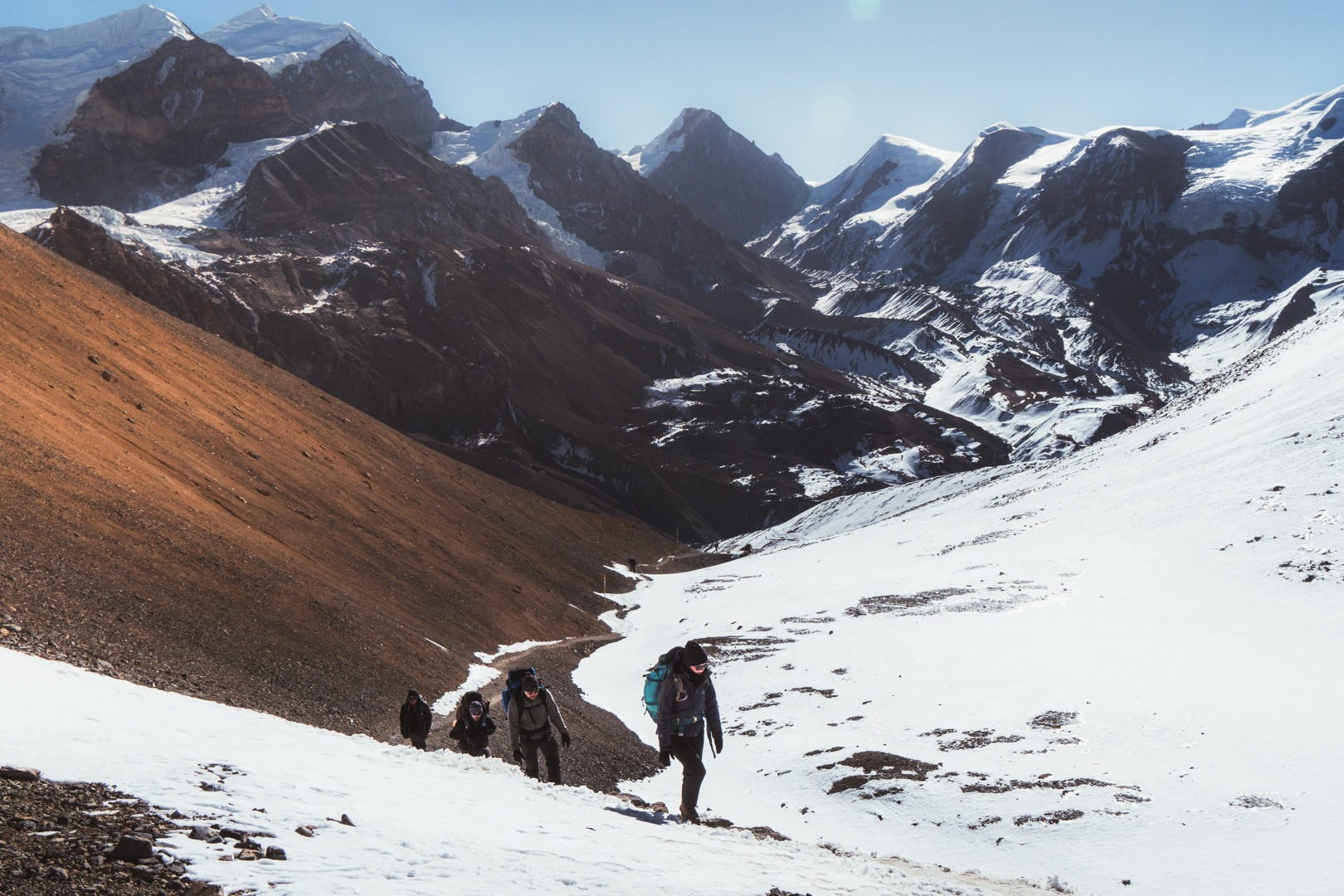 Thorong La Pass on the Annapurna Circuit | Photo by Ana Pereira