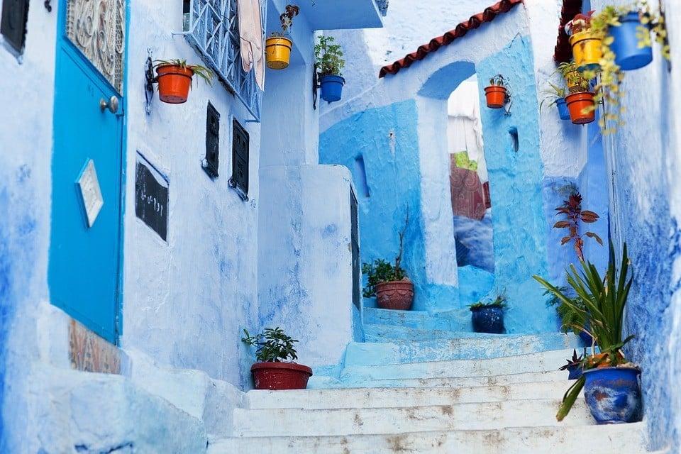 backpacking Morocco