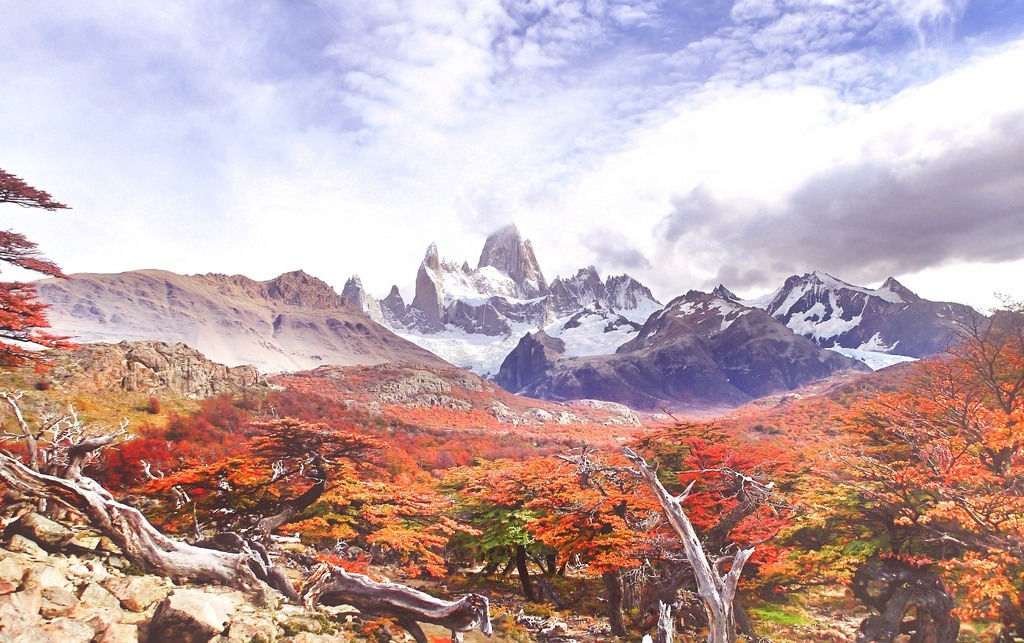 patagonia in the autumn argentina fitz roy