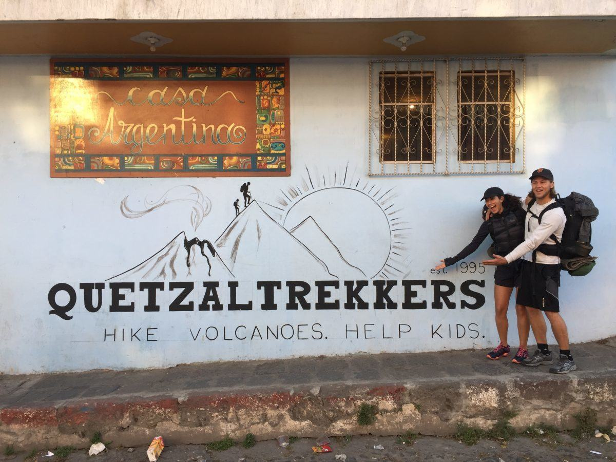 hiking with quetzal trekkers xela guatemala