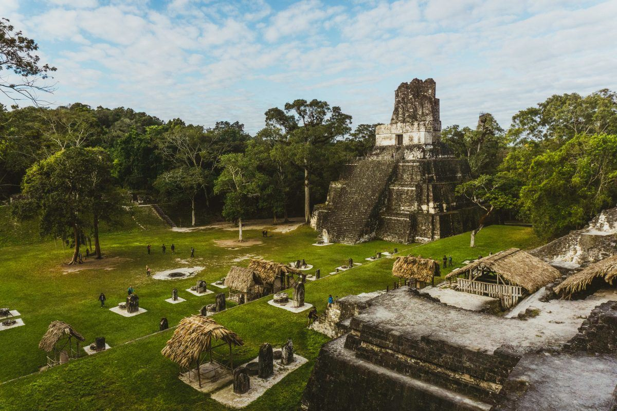 backpacking tikal guatemala