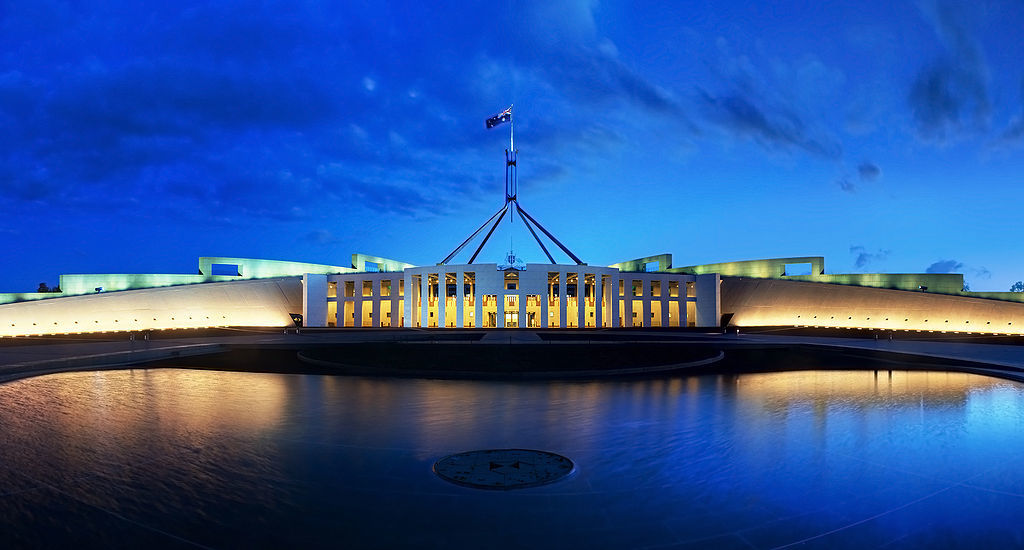 canberaa parliamentary buildings australia