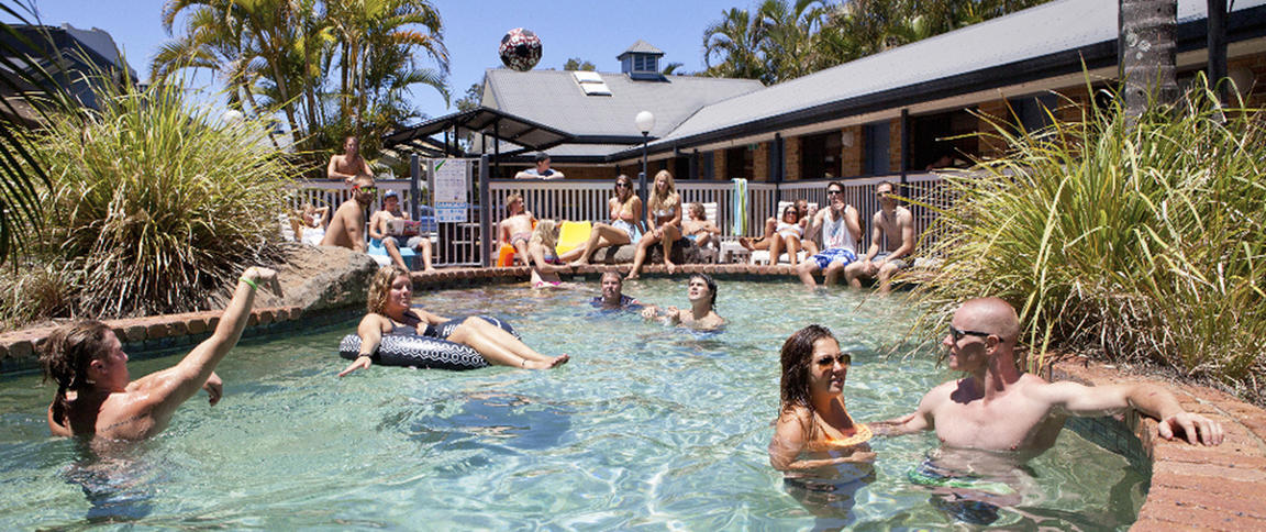 Backpackers Holiday Village best hostels in Byron Bay