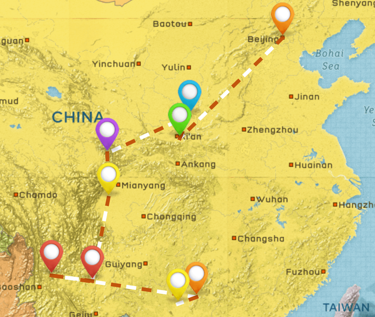 China Itinerary #4