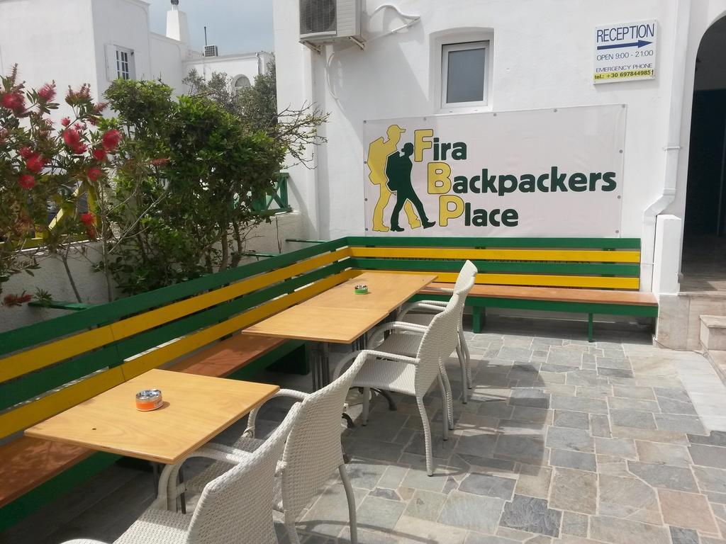 Fira Backpackers Place best hostels in Santorini