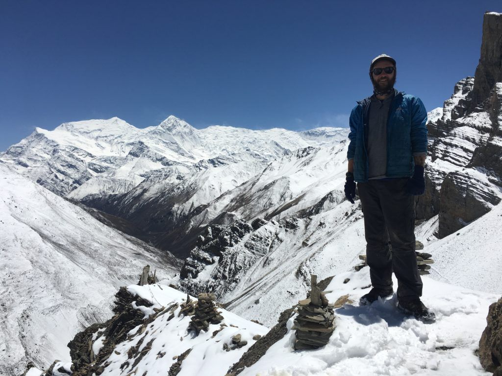 Nano Puff Hoodie being tested in Nepal
