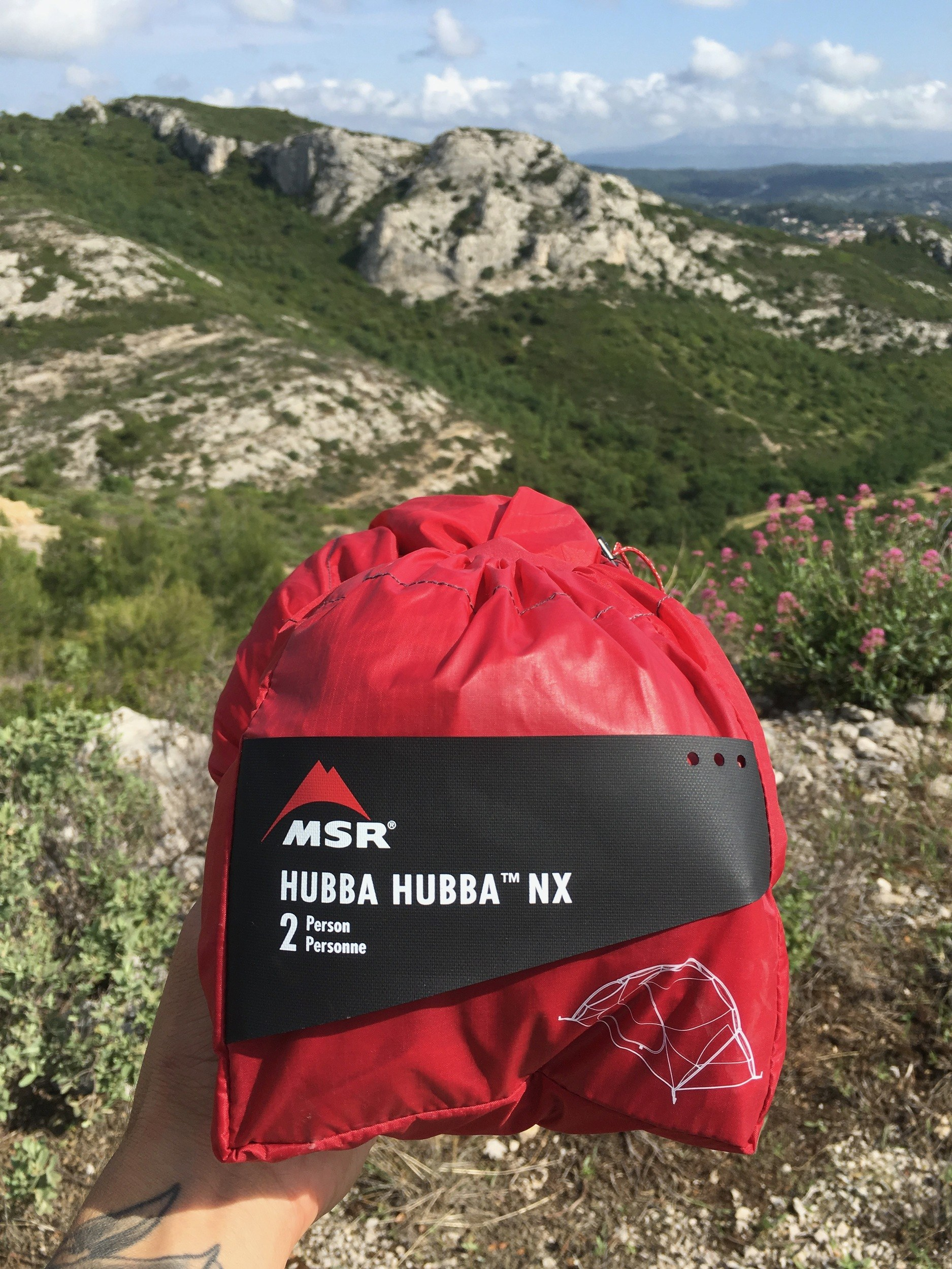 msr hubba hubba 2 person tent review