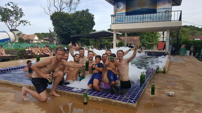 Lazy House Shenanigans best hostels in Koh Phangan